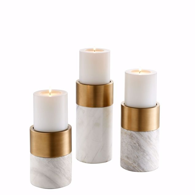 Picture of Candle Holder Sierra set of 3
