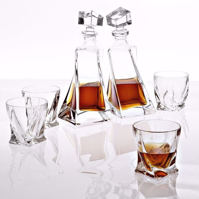 Picture of Decanter Sapphire set of 6