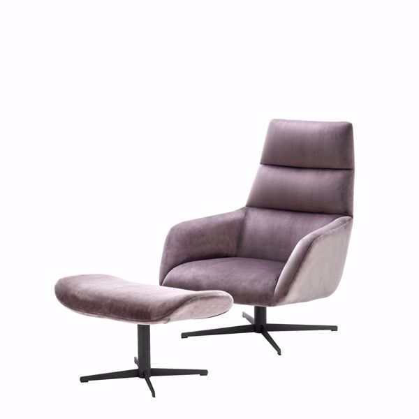 Picture of Swivel Chair & Ottoman Nautilus